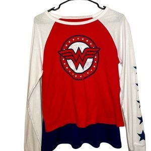 Wonder Woman Long Sleeve Shirt With a REAL cape